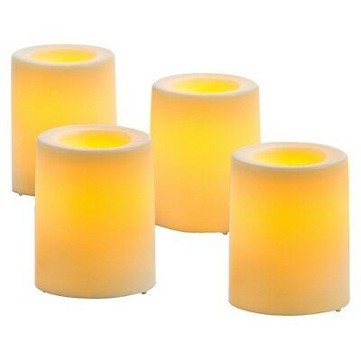 4 Pack Bisque Wax Dipped Votives - Threshold