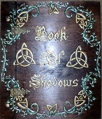 A Twining Vine Book of shadows Triquetra - Wicca, Witch, Pagan