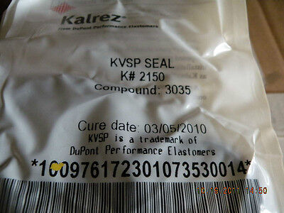 Kalrez 1050lf o-ring K# 030 New Sealed old stock