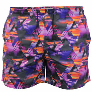 1c0682b600 Details about Mens Swimming Shorts Brave Soul Pineapple Print Beach Trunks  Mesh Lined Summer