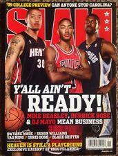 2008 Nba Slam Magazine Rare Gem Mint Rookie Issue Chicago Bulls Derick Rose Mayo