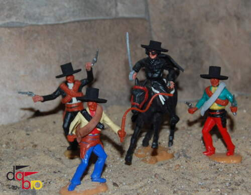 mexican hats spanish Timpo Cowboys DaBro Wild West Mexikaner Hüte 2 spanisch