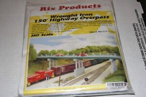 RIX-PIKE-STUFF-WROUGHT-IRON-HIGHWAY-OVERPASS-628-0123-NEW-STORE-STOCK