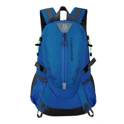 Men Waterproof Sports Backpack Outdoor Hiking Laptop Travel Rucksack Bag Daypack