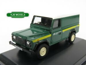 BNIB-OO-GAUGE-OXFORD-1-76-76DEF017-LAND-ROVER-DEFENDER-Forestry-Commission