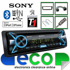 Peugeot 107 Sony CD MP3 USB Bluetooth Handsfree Ipod Iphone Radio Stereo Kit