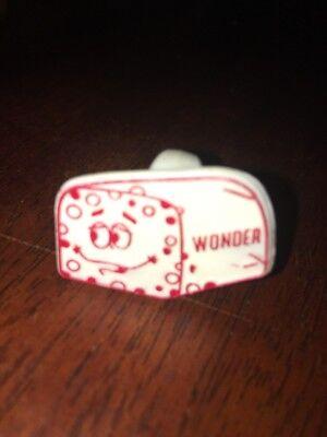 Wonder Bread kids plastic promo ring VINTAGE 1960s