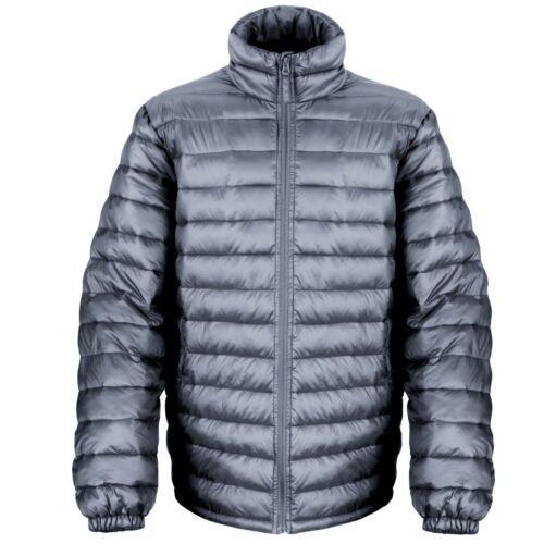 Risultato da Uomo Ice Bird Giacca Imbottita-R192M-Trapuntato Puffa Cappotto Caldo