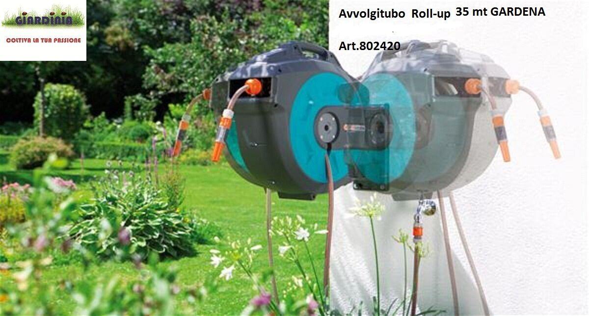 AVVOLGITUBO A PARETE AUTOMATICO ROLL-UP 35 GARDENA