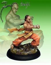 BUSHIDO NUOVO CON SCATOLA-SEIJI. giovane monaco-Tempio di ro-kan