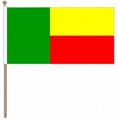 Benin (30.5cm X 45.7cm) Große Hand Wehende Flagge Verkaufspreis