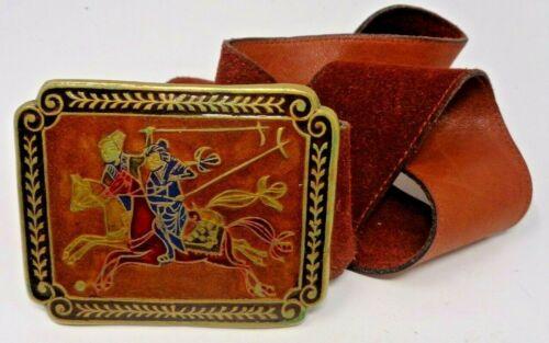 Vintage Warrior Horse Golden Hands Made in INDIA B