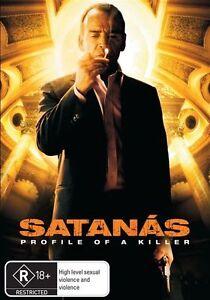 Satanas-Profile-of-a-Killer-DVD-Spanish-2007-Colombian-Foreign-Rare-Movie