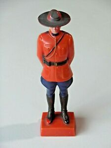 Vintage Reliable Plastic Canadian Royal Mounted Police Figure 1940's 8850