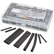 Heat Shrink Tubing Kit 31 Adhesive Lined 142 Pcs Set Black Suitable For Marine