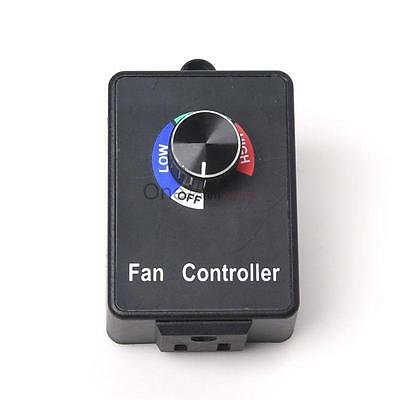 AC 110V Variable Active Air Duct Fan Speed Controller Hydroponics Inline Exhaust