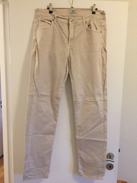Chinos, Bessie, str. 36,  Beige,  God men brugt, Jeans by…