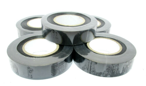 Black Insulating w Electrical Tape 19mm x 20m  Pack of 5 2977 Insulation