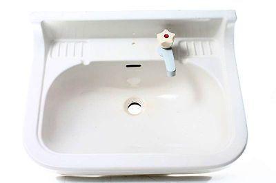 Kleines Keramik Waschbecken Ausgussbecken Becken Ausguss Wc Weiß Verkaufspreis