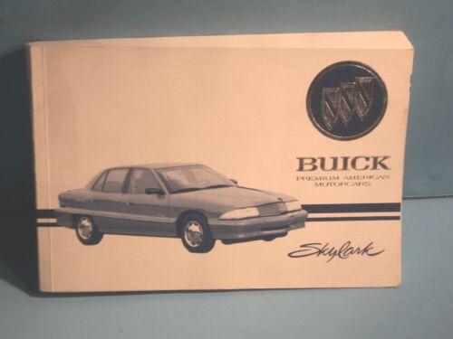 95 1995 Buick Skylark owners manual