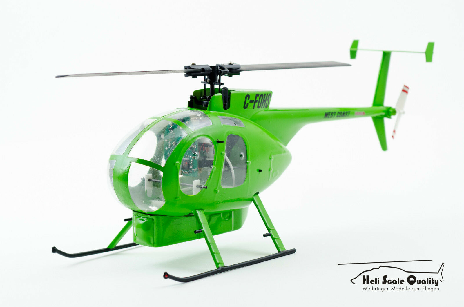 - Scafo KIT Hughes MD 500c d 1 24 per MCPX BL, trex150, WLtoy v977 tra l'altro
