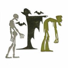 Sizzix Thinlits Dies By Tim Holtz 31//Pkg-Cool Yule