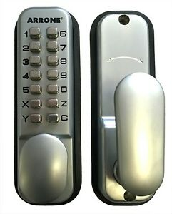 Image is loading Arrone-Push-Button-Mechanical-Digital-Combination-Code-Door -  sc 1 st  eBay & Arrone Push Button Mechanical Digital Combination Code Door Lock ...