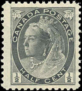 1898-Mint-NH-Canada-F-VF-Scott-74-1-2c-Queen-Victoria-Numeral-Issue-Stamp