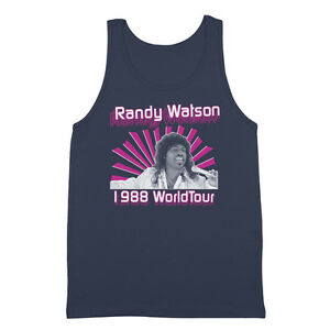 Sexual Chocolate  Mr Randy Watson Soul Glo Red Basic Men/'s T-Shirt