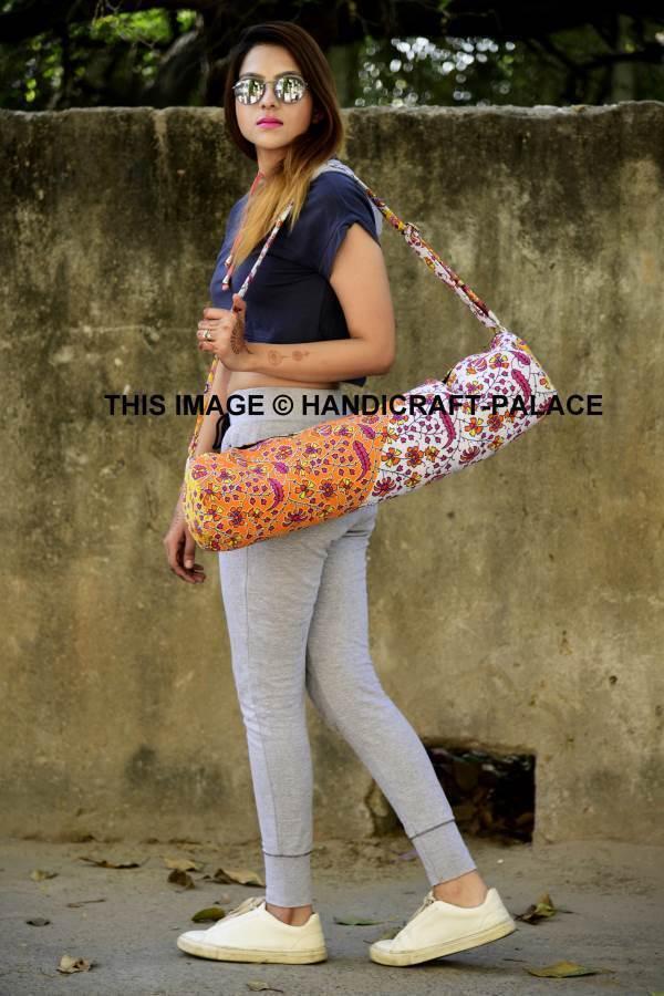 10 PC Mandala Hippie Indian Large Yoga Yoga Large Mat Carrier Bag with Shoulder Strap Bags 3778dd