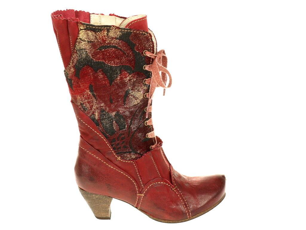 Rovers Schuhe Stiefel Edelbotten 48012 Gr. 40 Original Neu rot Das Original