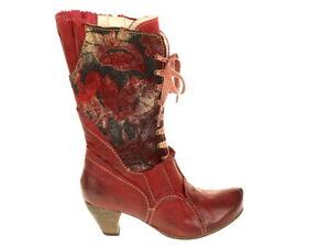 Details zu Rovers Schuhe Stiefel Edelbotten 48012 Gr. 40 Original Neu rot Das Original