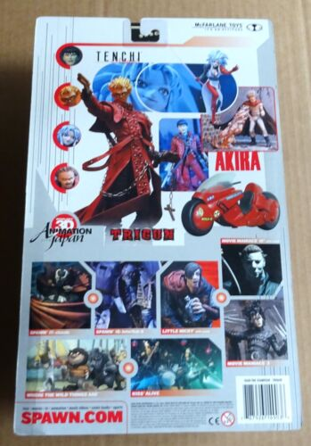 Multi-Liste de sélection de McFARLANE TOYS Akira//Trigun//Tenchi Action Figures New