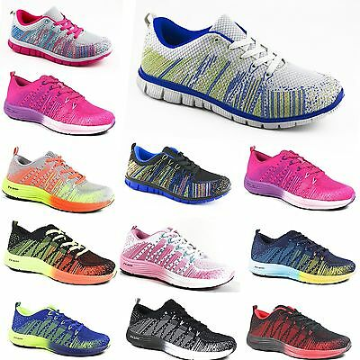 NEW ! MEN'S WOMEN'S Trainers SNEAKERS TRAINERS Neon Running shoes SNEAKERS SHOES