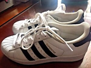 24f2c62d76d Image is loading ADIDAS-Size-US-5-Youth-Superstar-Ortholite-White-
