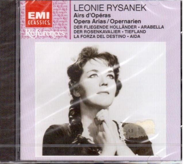 Leonie Rysanek: Airs D'Operas , Arien von Oper, Opera Arias Opernarien - CD Emi