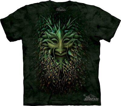 Greenman T-Shirt by The Mountain. Celtic Irish Pagan Ireland Sizes S-5XL NEW