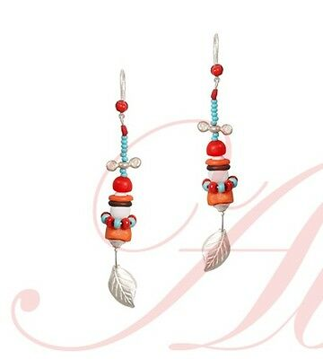 The Locomotive Drop Earrings from the Novelty Box Collection by Lalo Orna