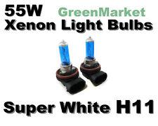 10 11 Mazda-3/ 08-10 Mazda CX-7/CX-9 Low Beam H11 Xenon -55w Super White Bulbs