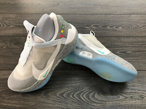Details zu Nike Adapt BB Mag (US Charger) Wolf Grey AO2882 002 Schuhe Back To The Future II