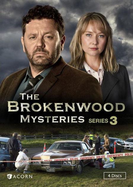 BROKENWOOD MYSTERIES, SERIES 3 - DVD - Region 1 - Sellado