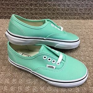 b8a943959f Image is loading Vans-Kids-Shoes-034-Authentic-034-Light-Green