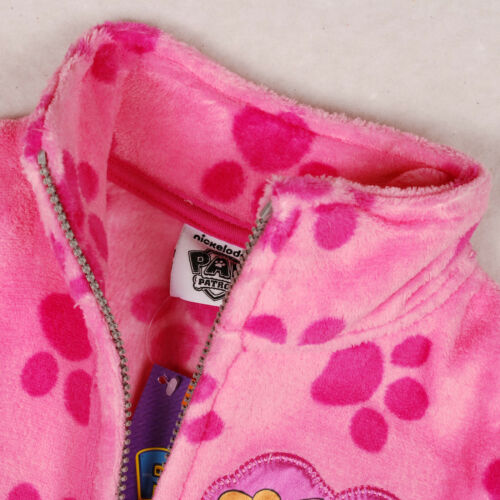 Girls NEW Official Paw Patrol™ Soft Fleece Zip Top Jacket Age 3 4 5 6 7 8 Years