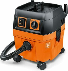 FEIN Turbo I Vacuum Cleaner, 5.8 Gallon, 1100W   Includes: 13 ft Suction Hose