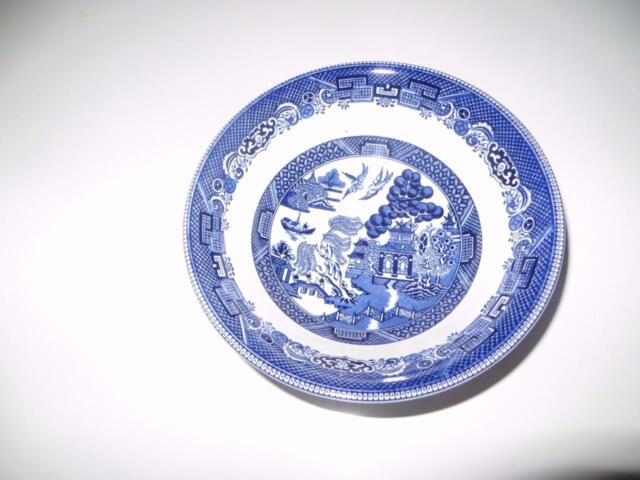 Waterford Johnson Brothers Willow Blue Soup//Cereal Bowl 6/""