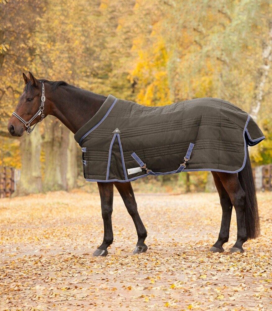 Coperta SDiuominiione riempiuominito 100g 840d comfort WALDHAUSEN cavallo moda TobaccoLavea