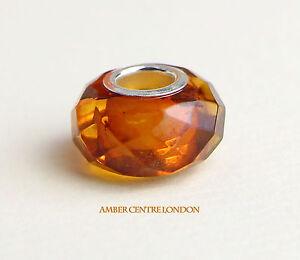 ambar-amp-Plata-925-Facetado-charm-compatible-para-Europeas-pulseras-CHA73