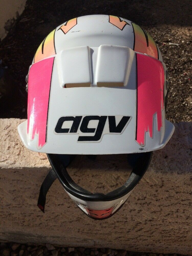 AGV ALPHA VALENZA MADE IN ITALY   MOTORCYCLE HELMET SIZE L  sale outlet