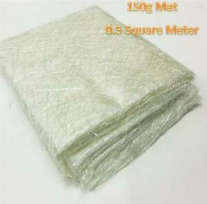 Glass-Fibre-Mat-150g-Heavy-Duty-1mtr-Matting-Use-With-Resin-Car-Boat-Pond-Repair