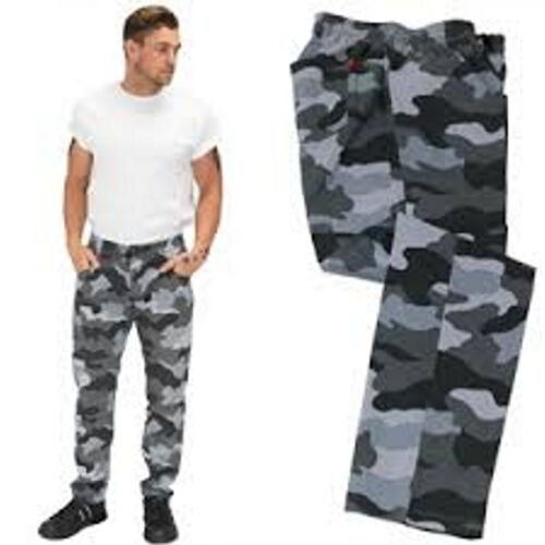 Le Chef Pants NEW LOOK Camouflage /& Black Prep Contemporary Fit /& Style Slim